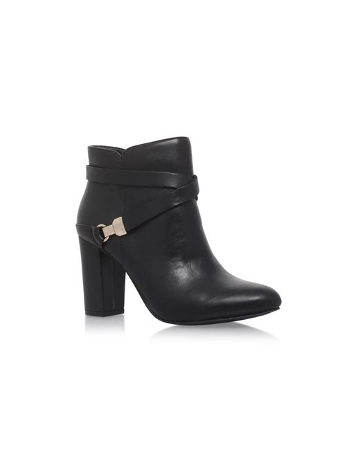 Anne Klein - Black 'natalynn' High Heel Ankle Boots - Lyst
