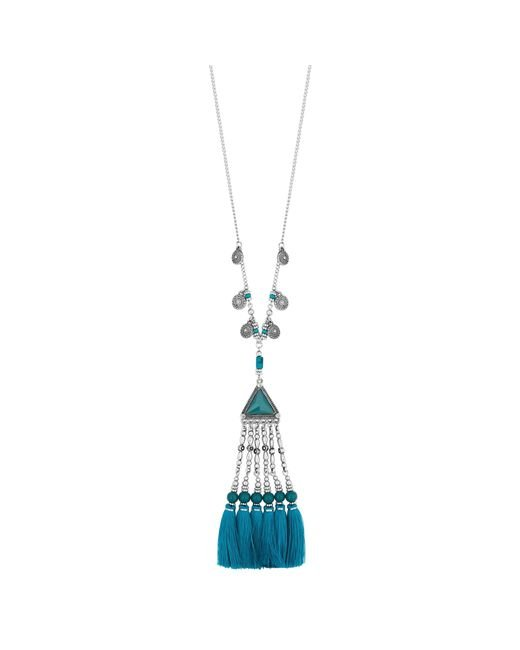 Red Herring - Blue Rodeo Tassel Necklace - Lyst