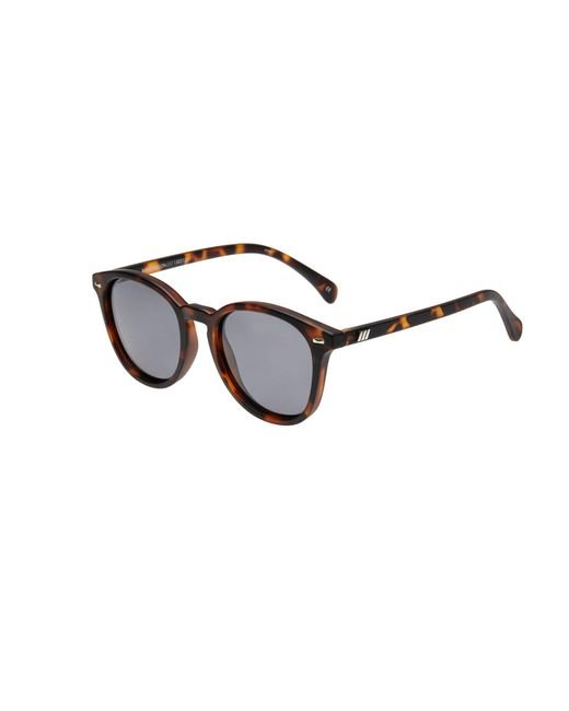 Le Specs - Brown Modern Round Sunglasses - Lyst