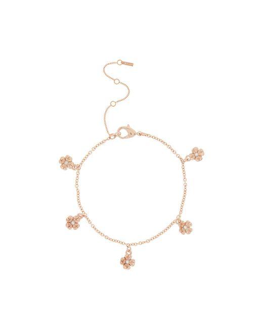 Pilgrim - Metallic Rose Gold 'lauren' Bracelet - Lyst