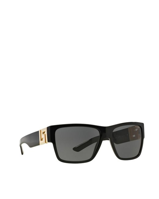 0bdfa8da093c Versace Black Ve4296 Square Sunglasses in Black for Men - Lyst