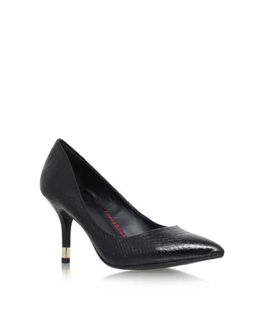 KG by Kurt Geiger - Black 'evie' High Heel Court Shoes - Lyst