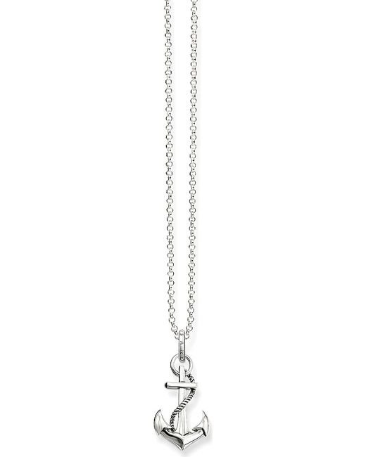 Thomas Sabo | Metallic Glam & Soul Arabesque Anchor Sterling Silver Necklace | Lyst