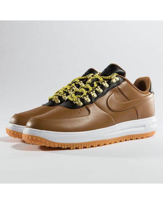 fe04d7a25807 Nike - Brown Sneakers Lunar Force 1 Low Duckboot for Men - Lyst ...