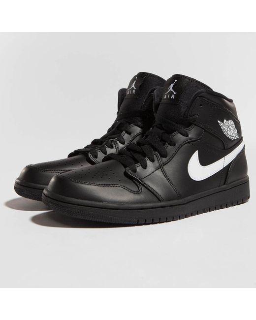a9b4ab51e68a3f Nike - Black Sneakers 1 Mid for Men - Lyst ...