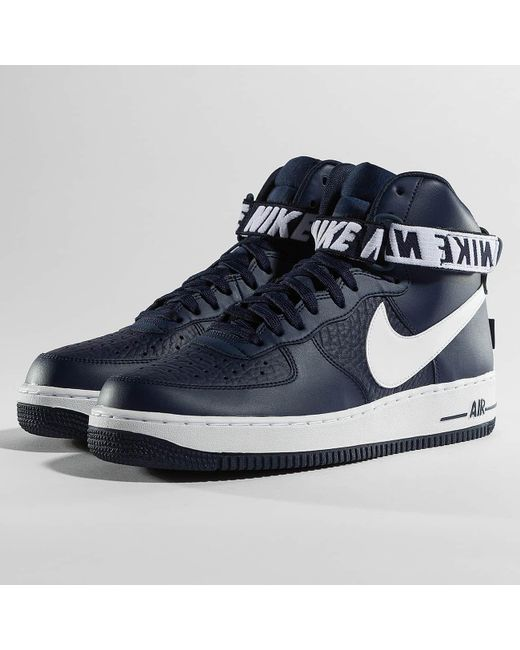 Nike - Blue Sneakers Air Force 1 High 07 for Men - Lyst ...