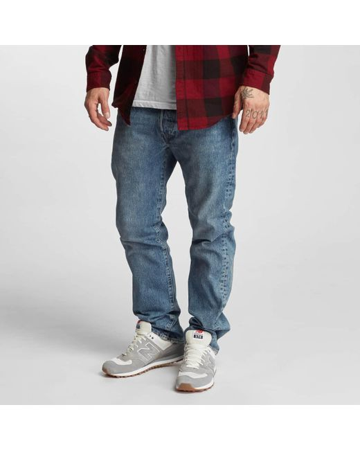 f4e3e399681 Levi's - Blue Straight Fit Jeans Crosby for Men - Lyst ...