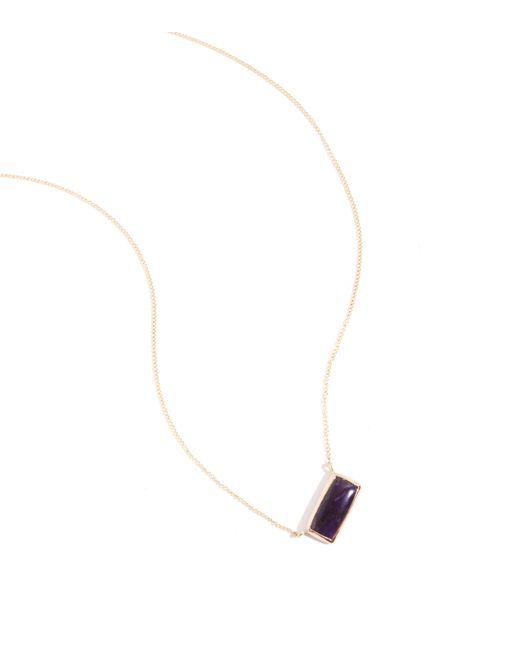 Melissa Joy Manning   Metallic Sugilite Necklace   Lyst