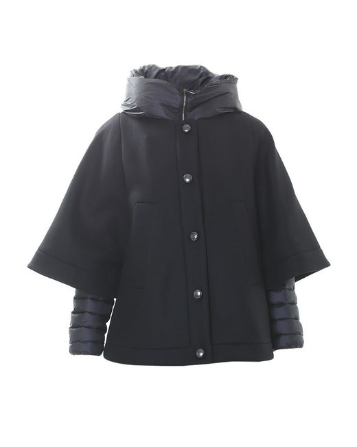 Moncler | Black Champs Quilted Parka | Lyst