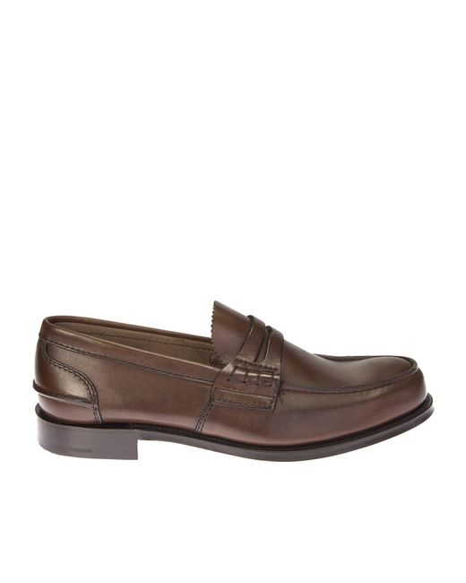 Church's | Brown Leather Pembrey Moccasin for Men | Lyst
