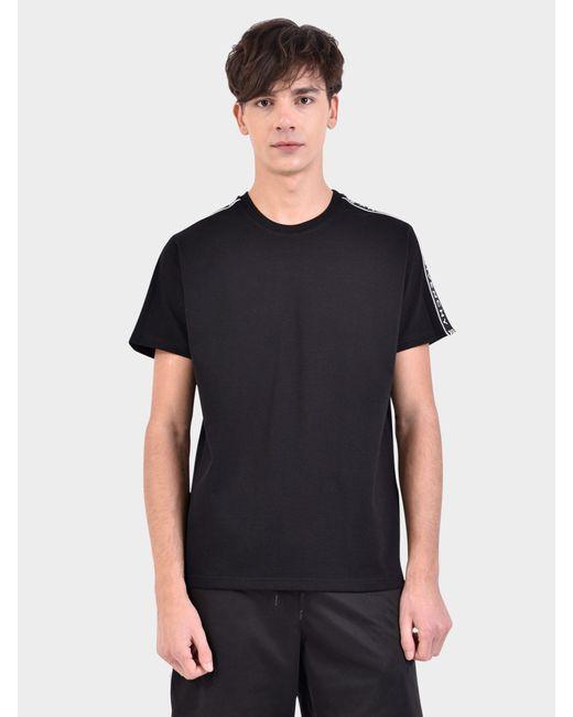 8a9dff61788c Givenchy - Black Logo Bands Cotton T-shirt for Men - Lyst ...