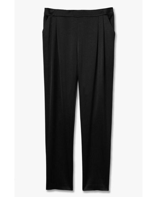 Derek Lam | Black Track Pant Trouser | Lyst