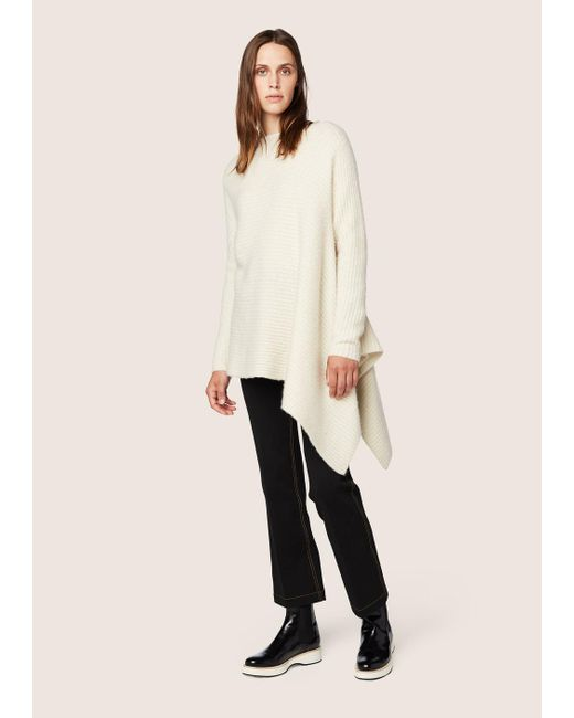 Derek Lam | White Asymmetrical Sweater | Lyst
