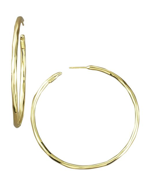 Ippolita | Metallic Thin Glamazon Hoop Earrings | Lyst