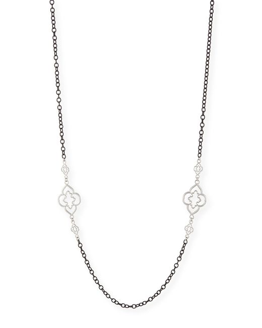 Armenta | Metallic Heraldry Scroll Cable Chain Necklace | Lyst