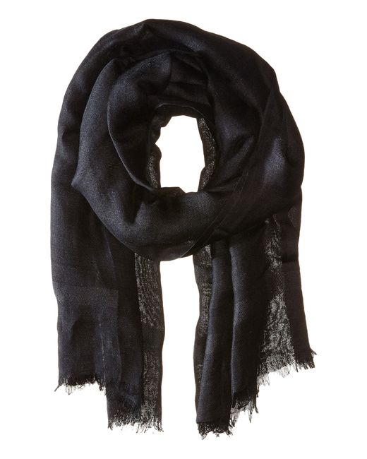 Love Quotes | Gray Knotted Tassel Linen Scarf | Lyst