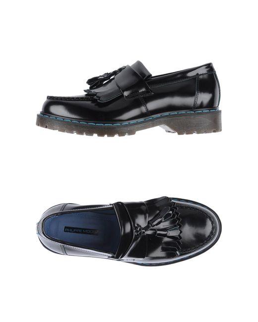Philippe Model | Black Loafer for Men | Lyst
