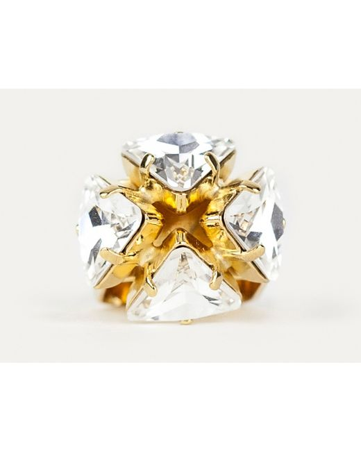 Sabrina Dehoff | Metallic Mountain Crystal Ring | Lyst