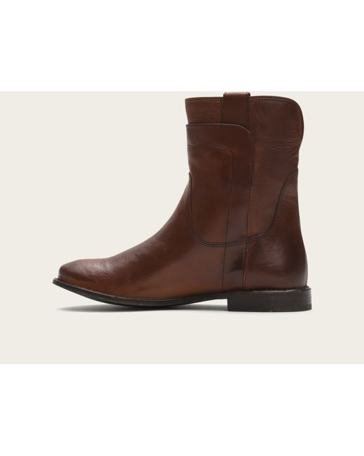 Frye | Brown Paige Short Riding | Lyst
