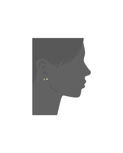 Rebecca Minkoff | Metallic Crystal Arrow Post Earrings | Lyst