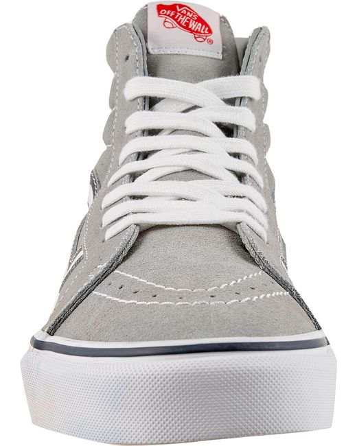 096500388debe5 ... Vans - Gray Sk8-hi Reissue Mlb Yankees Shoes for Men - Lyst ...