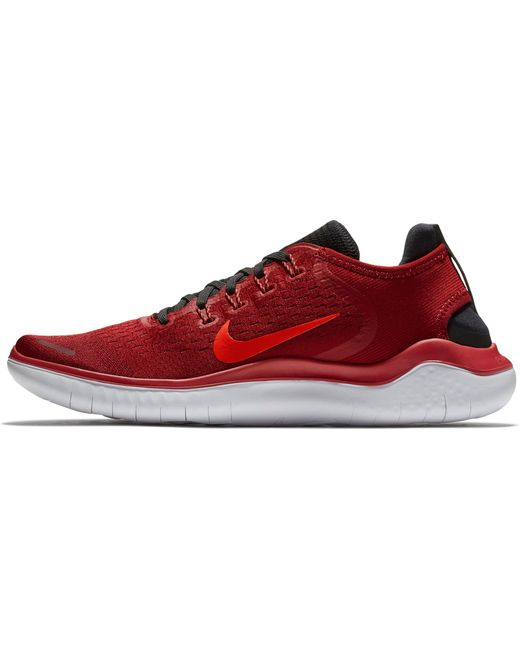 buy online ff55f df865 ... Nike - Red Free Rn 2018 Running Shoes for Men - Lyst ...