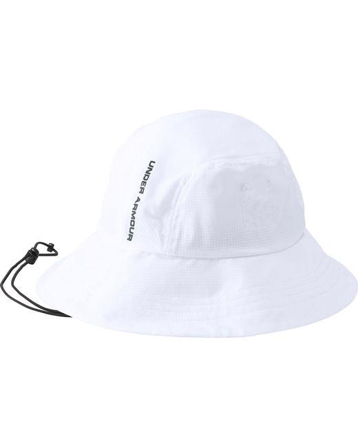 79029e423da ... Under Armour - White Armourvent Warrior 2.0 Bucket Hat for Men - Lyst  ...