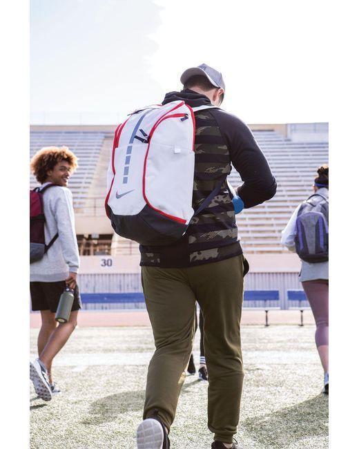 ... Nike - White Hoops Elite Pro Basketball Backpack for Men - Lyst 89449e09546b8