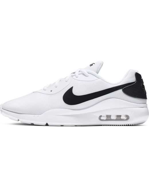 Nike Synthetic Air Max Oketo Shoes in WhiteBlack (White