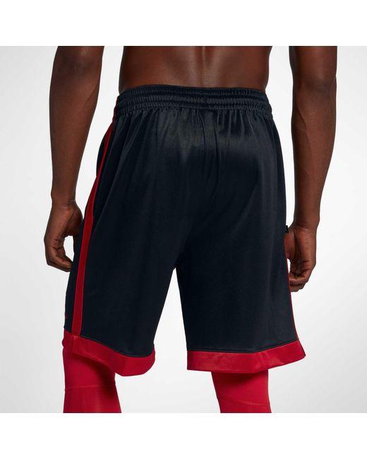 5f477533338 ... Nike - Black Jordan Shimmer Basketball Shorts for Men - Lyst ...