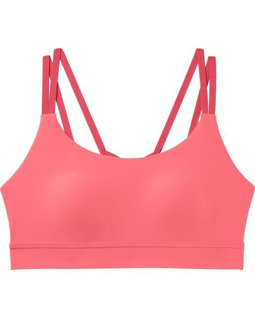 f13ddf5ae7f4a ... Under Armour - Pink Vanish Low Impact Sports Bra - Lyst ...