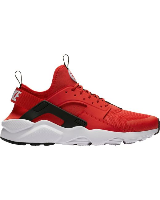 new concept ed3d1 54824 Nike - Red Air Huarache Run Ultra Shoes for Men - Lyst ...