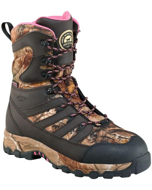 "Irish Setter - Brown Lady Hawk 9"" Waterproof 2000g Field Hunting Boots - Lyst"