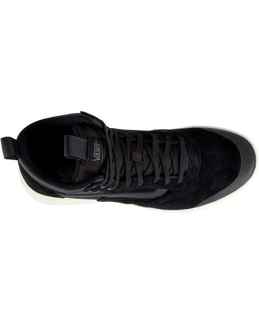 79b5f9923e ... Vans - Black Ultrarange Hi Mte Shoes for Men - Lyst ...