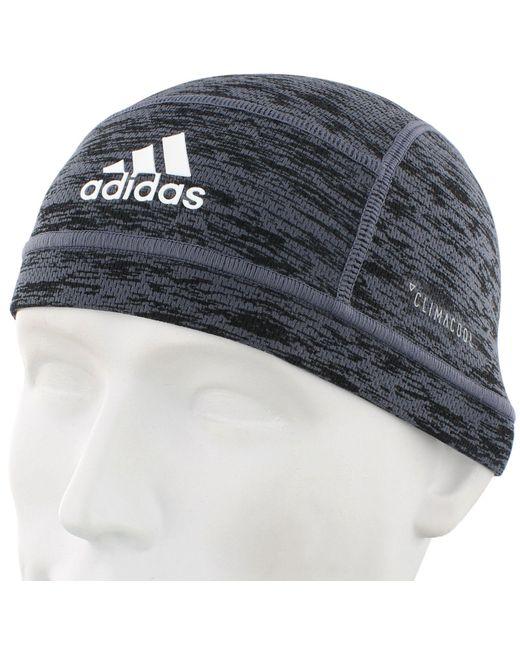 ... Adidas - Black Climacool Football Skull Cap for Men - Lyst ... b15ecdbdc8d5