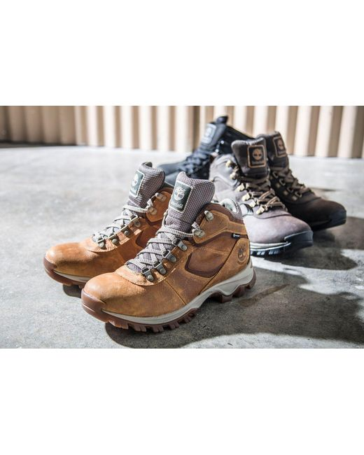 8ce4ef16eb494 ... Timberland - Brown Earthkeepers Mt. Maddsen Mid Waterproof Hiking Boots  for Men - Lyst