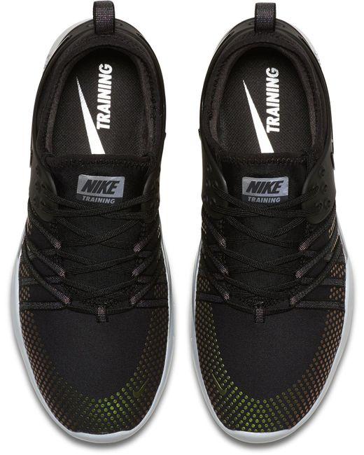 ... Nike | Black Free Tr 7 Metallic Training Shoes for Men | Lyst ...