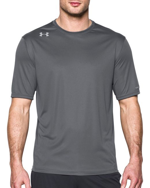Under Armour - Gray Challenger Ii T-shirt for Men - Lyst