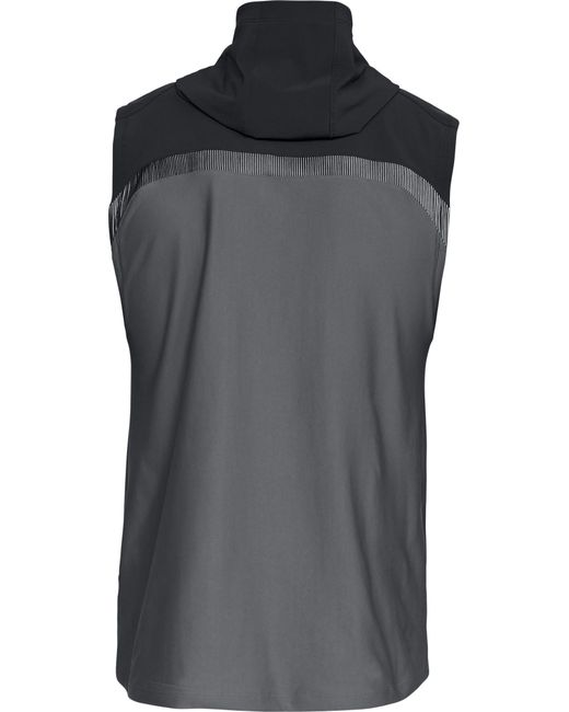 858f039aa802d ... Under Armour - Gray Ua Vanish Sleeveless Hoodie for Men - Lyst ...