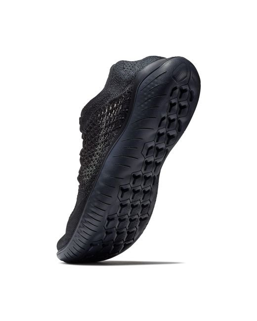 a3ab9f4b19d5 ... Nike - Black Free Rn Flyknit 2018 Running Shoes for Men - Lyst