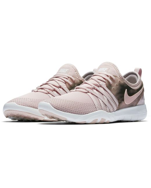 nike free tr7 women's training shoe pink nz