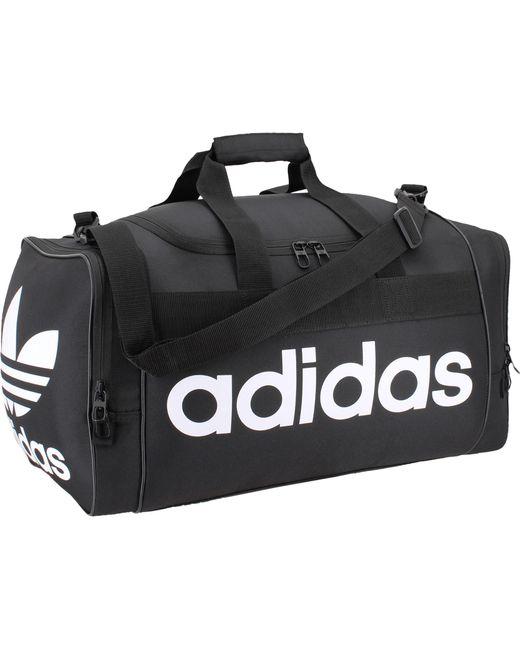 Adidas Black Originals Santiago Duffle Bag For Men Lyst