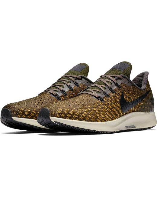 3ed317ad495 ... Nike - Green Air Zoom Pegasus 35 Running Shoes for Men - Lyst ...