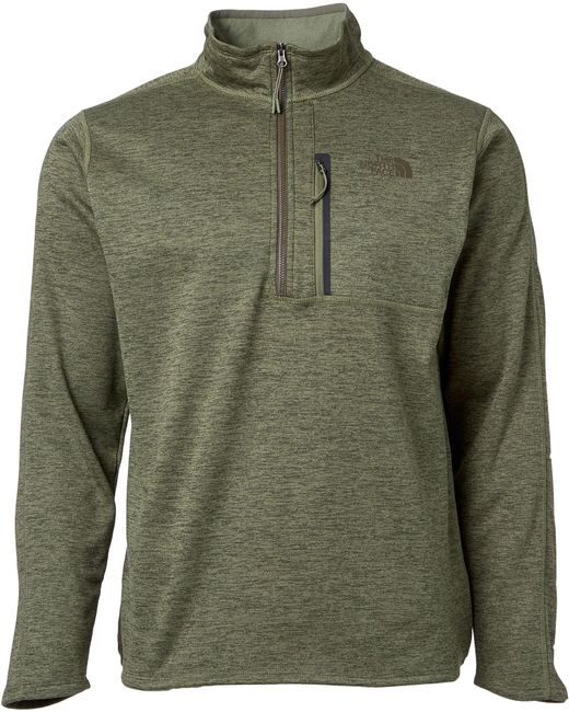 fae53e844 Men's Green Canyonlands Half Zip Pullover