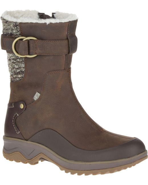 Merrell - Brown Eventyr Mid North Waterproof 200g Winter Boots - Lyst