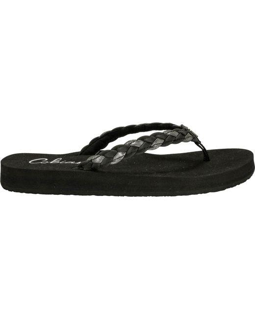 440a15fac Cobian - Black Heavenly Flip Flops - Lyst ...