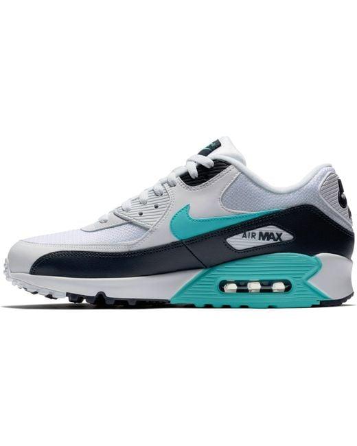 reputable site 226ae ffd51 ... Nike - White Air Max 90 Essential for Men - Lyst ...