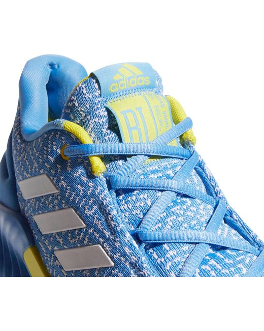 0271f96ecf27b ... Adidas - Blue Pro Bounce Low 2018 Basketball Shoes for Men - Lyst ...