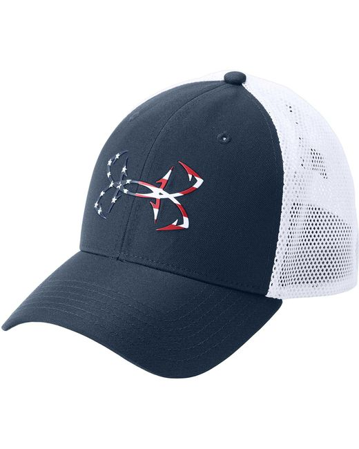 a36285b81a6 Under Armour - White Fish Hunter Trucker Hat for Men - Lyst ...