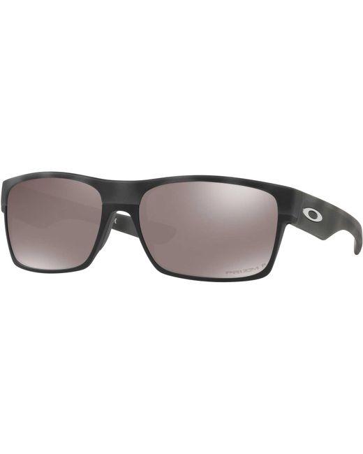 5681e9ef2c Oakley - Black Twoface Polarized Sunglasses for Men - Lyst ...